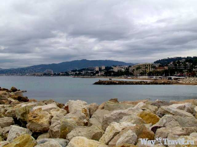 Вид на западную часть побережья Канн ( View of the west coast of Cannes)
