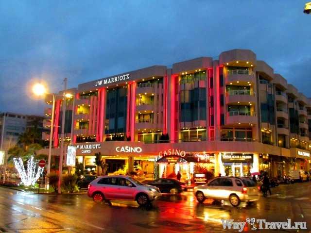 Канны - город кино и элитного отдыха (Casino of Cannes)