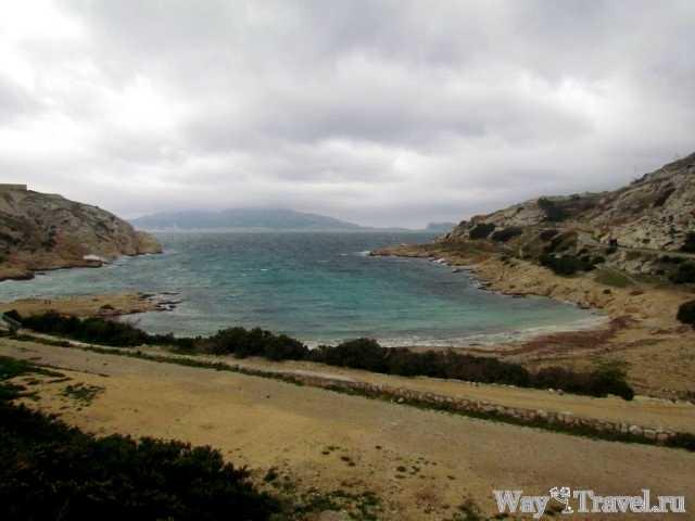 Залив острова Фриоль (Bay of Frioul Island)