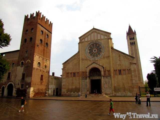 Базилика Сан-Дзено Маджоре (San Di San Zeno)