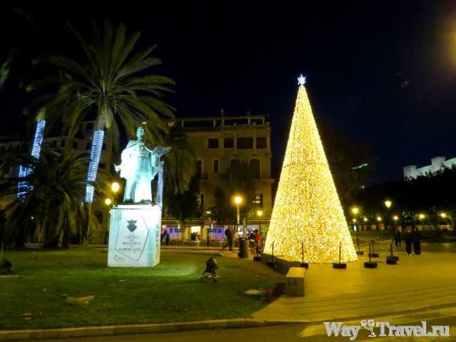 Новый год в Пальма-де-Майорка (Palma de Mallorca New Year)