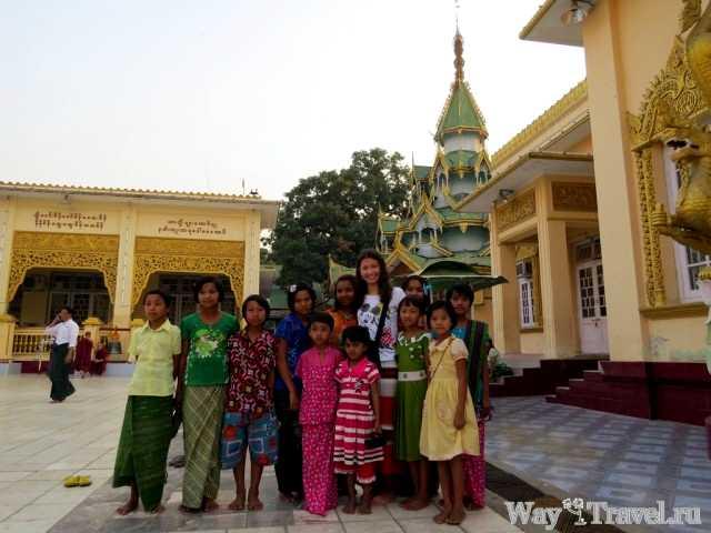 Фотосессия с жителями Мьянмы (Photo session with the people of Myanmar)