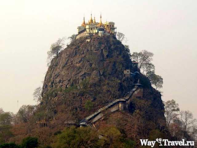 Гора Попа - Святилище духов