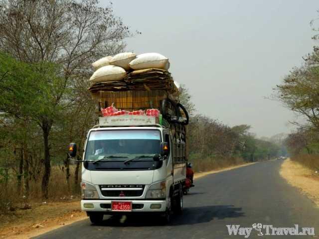 Дороги в Мьянме (Myanmar road)