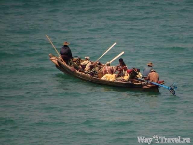 Рыбаки Нгве Саунга (Fishermen of the Ngwe Saung)