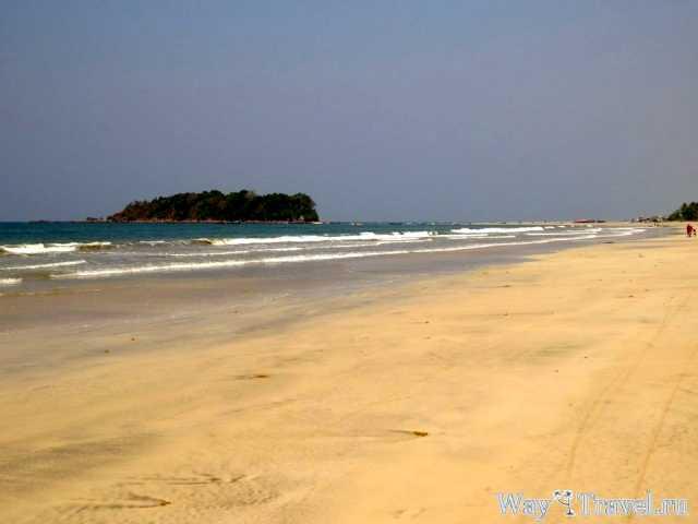 Побережье Нгве Саунг (Ngwe Saung coast)