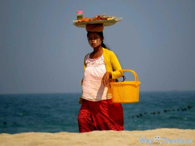 Бирманская девушка (Myanmar girl)