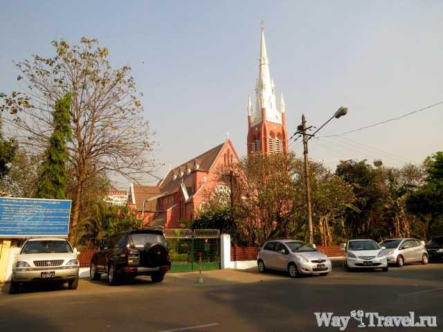 Церковь Святой Троицы в Янгоне (Holy Trinity Anglican Church in Yangon)
