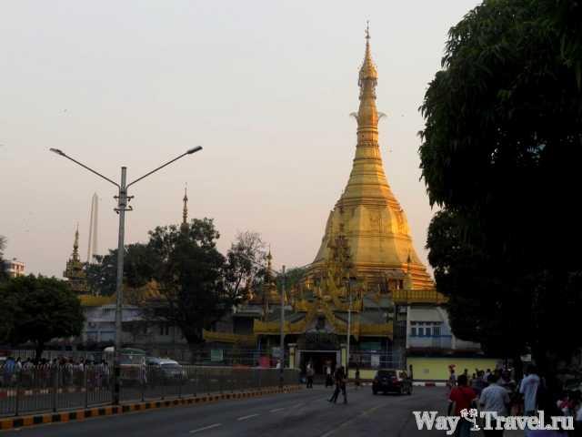 Пагода Суле (Sule Pagoda)