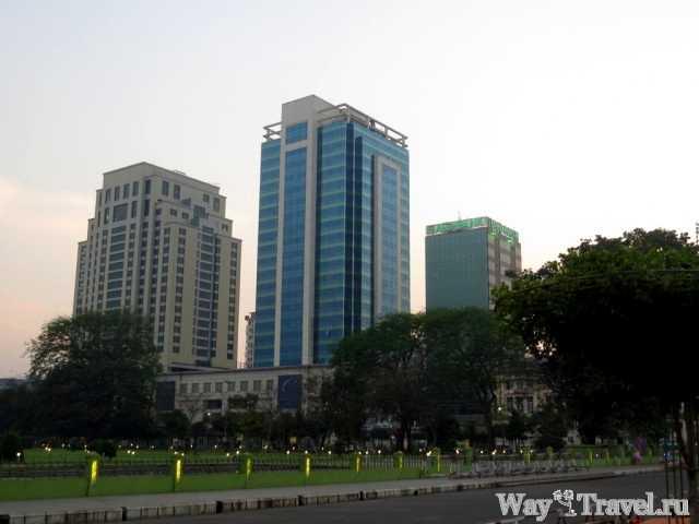 Янгон - главный город, но не столица Мьянмы