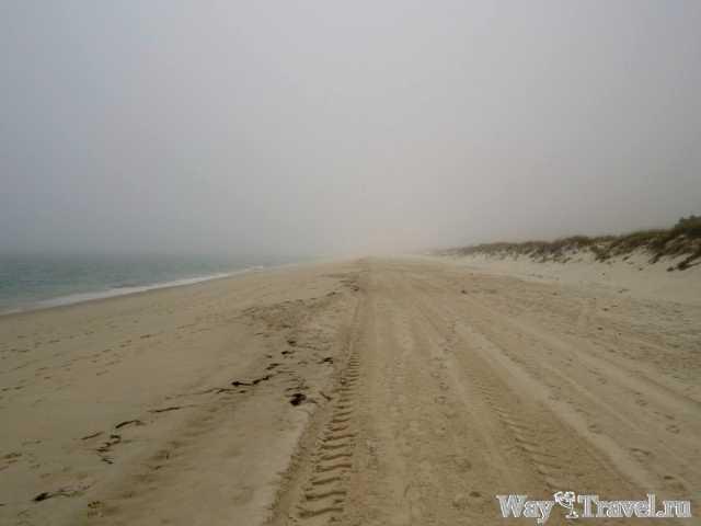 Туман над полуостровом Троя (Mist over the coast of Troia)