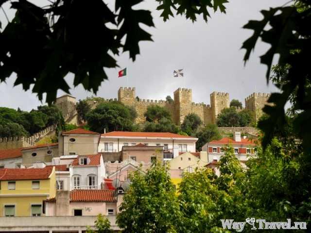 Крепость Святого Георгия (Castello de Sao Jorge)