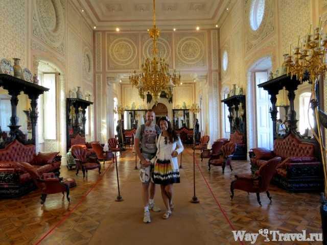 Внтури Дворца Пена (Inside Palacio da Pena)