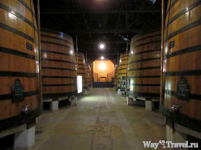 Погреб для изготовления портвейна (Cellar for the production of Port wine)