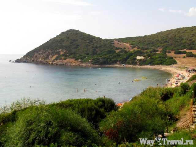 Пляж Spiaggia Poglina (Spiaggia Corallo beach)