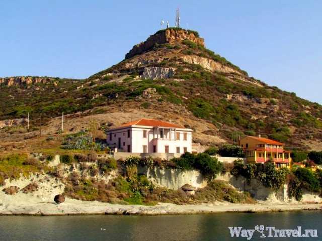 Западное побережье Сардинии
