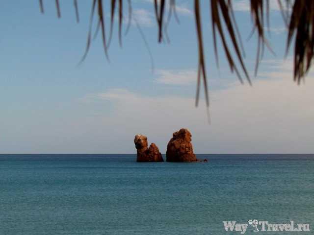 Пляж Байа Си (Baia Cea beach)