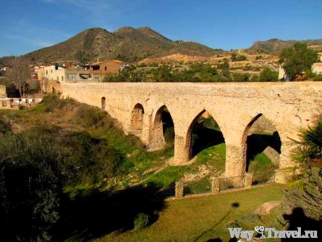 Валь-де-Ушо - римский акведук (La Vall d'Uixo - aqueduct)