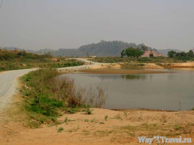 Территория Лаосом ( Laos area)