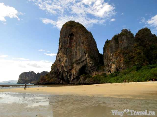 Пляж Phra Nang Beach