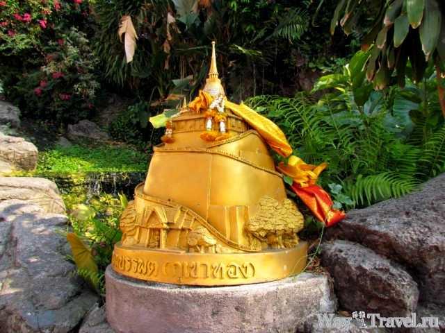 Модель храма Золотой горы (Wat Saket The Golden Mount model)