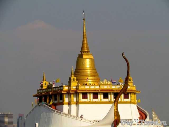 Храм Золотой горы (Wat Saket The Golden Mount)