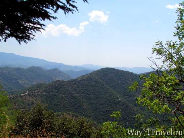 Природа в горах Кипра (Nature in the mountains of Cyprus)