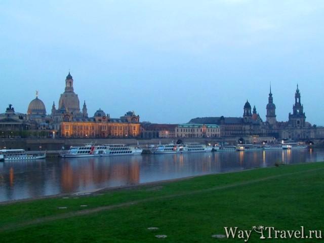 Река Эльба (Elbe river)