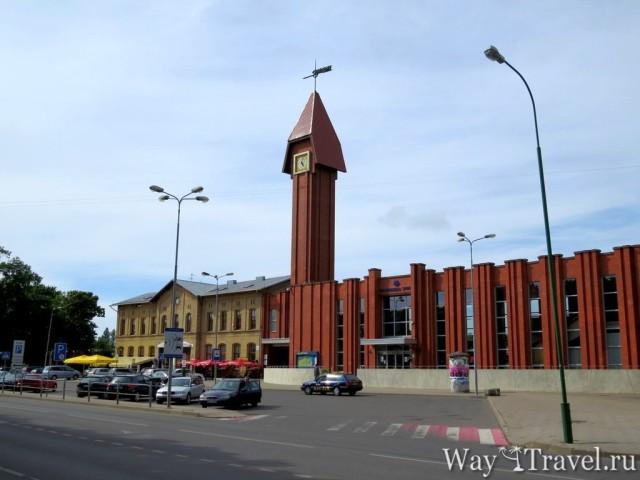 Железнодорожный вокзал Клайпеды (Klaipeda train station)