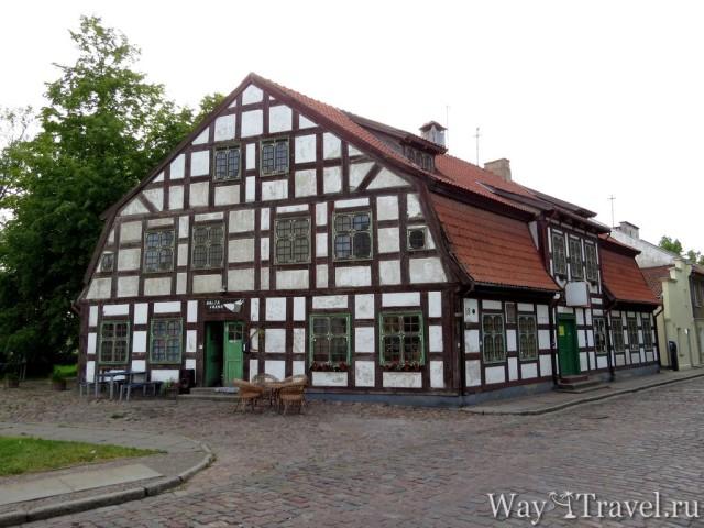 Фахтверковый дом (Fahtverk house)