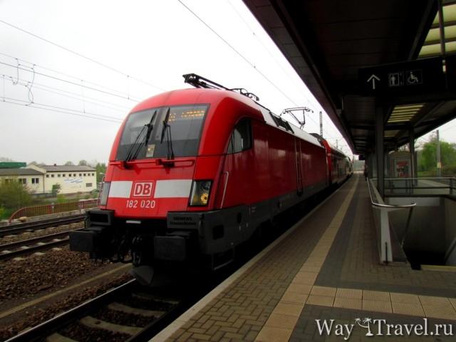 Электричка в Кенигштайн (Train to Konigstein)