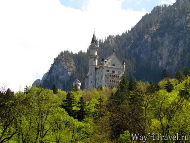 Нойшванштайн - сказочный замок Баварии (Neuschwanstein)
