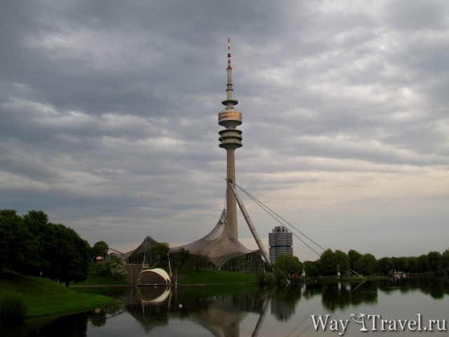 Олимпийская башня Мюнхена (Olympiaturm)