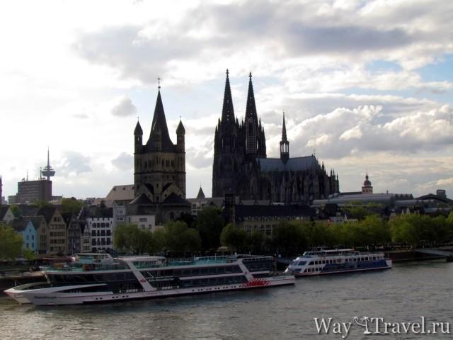Кельнский собор и Церковь Святого Мартина (K?lner Dom and Gro? Sankt Martin)