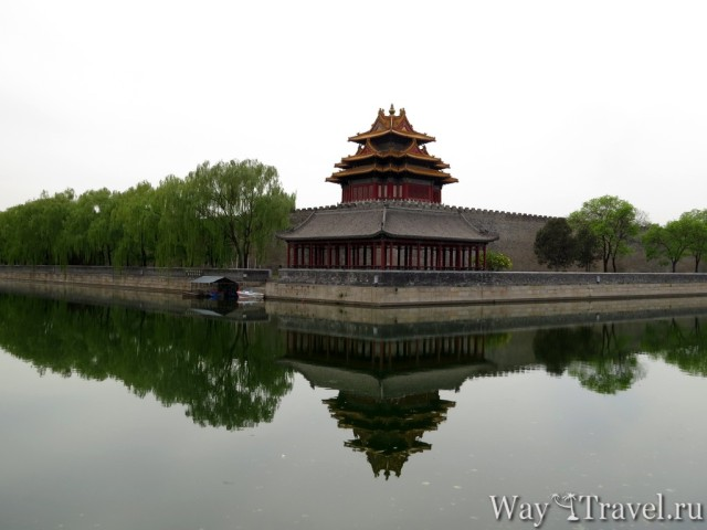 Башня северо-восточного угла Запретного города (Tower of north-east corner Forbidden City)