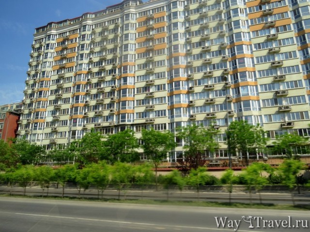 Жилой дом в Пекине ( Residential building in Beijing)