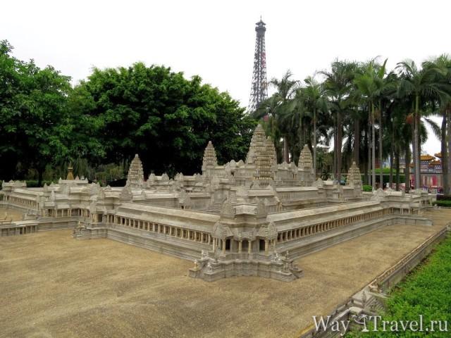 Окно в Мир - Ангкор-Ват в Сиемреап (Window of the World - Angkor Wat, Siem Reap)