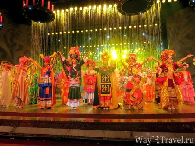 Театр Впечатлений в Шенчьжэне (Impression Theater in Shenzhen)