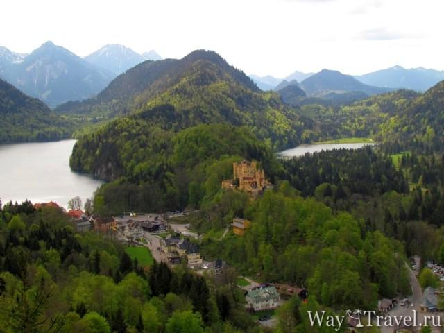 Озера Альпзе (Alpensee) и Шванзе (Schwansee)