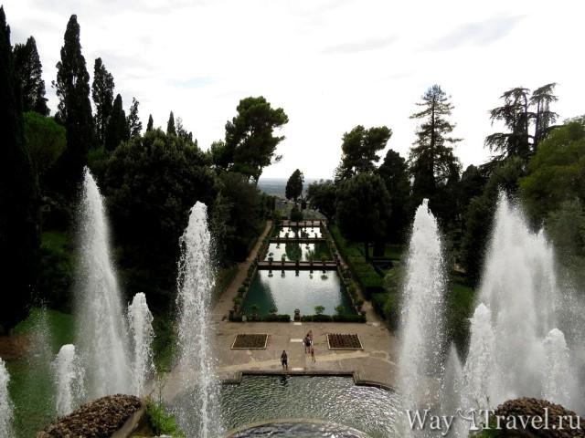 Фонтаны Виллы Д Эстэ в Тиволи (Amazing fountains of Tivoli)