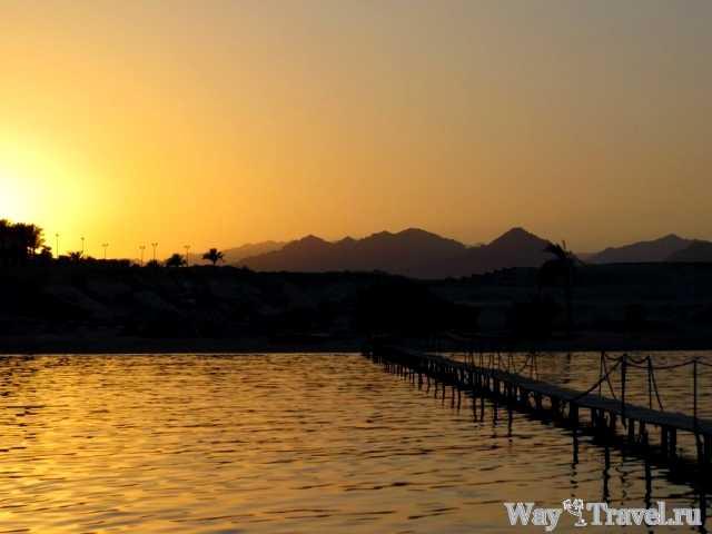 Закат в Шарм-Эль-Шейхе (Sharm El Sheikh sunset)