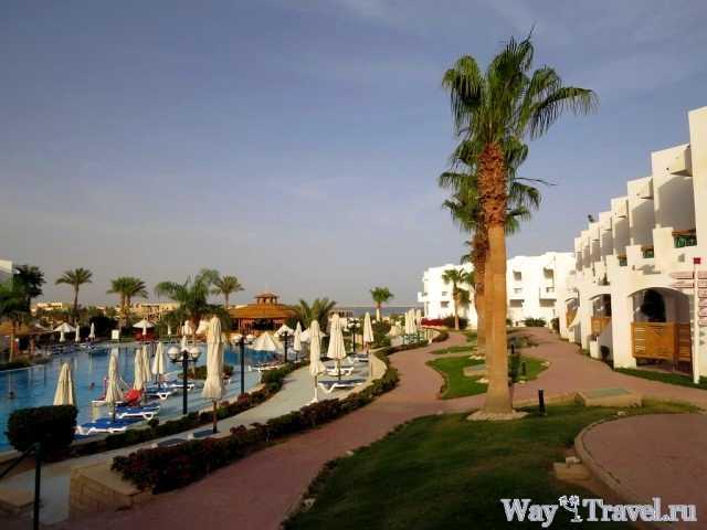Вид на территорию гостиницы (Hotel view)