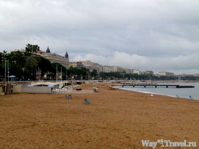 Пляж Канн (Cannes beach)