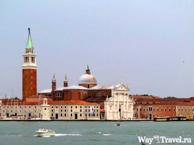 Венеция - романтичный город каналов и базилик (Cattedrale di San Giorgio Maggiore)
