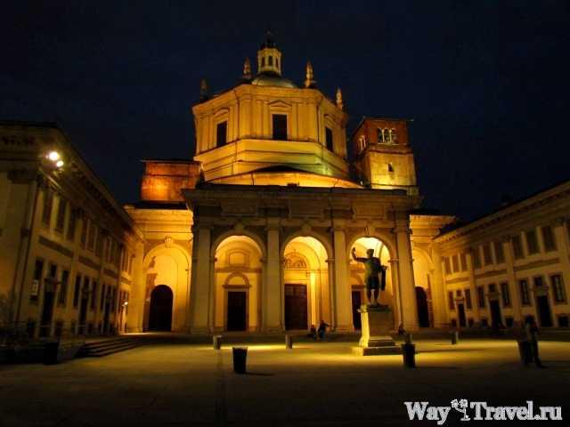 Базилика Святого Лаврентия (Basilica di San Lorenzo Maggiore)