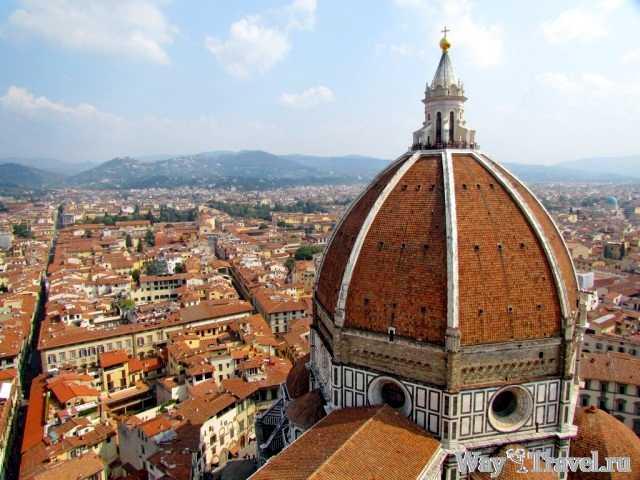 Флоренция - столица Тосканы и родина эпохи Возрождения (Duomo Santa Maria del Fiore)
