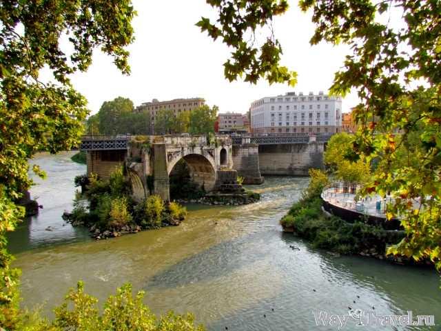 Река Тибр (Tevere river)