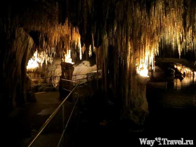 Отдых в Кала Феррера и пещеры Дракона