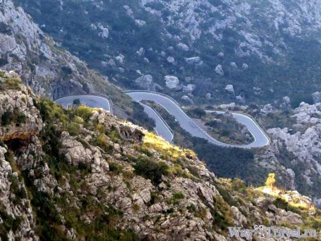 Дорога к Са Калобра (Road to Sa Calobra)
