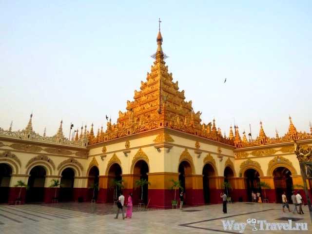 Пагода Махамуни (Mahamuni Buddha Pagoda)